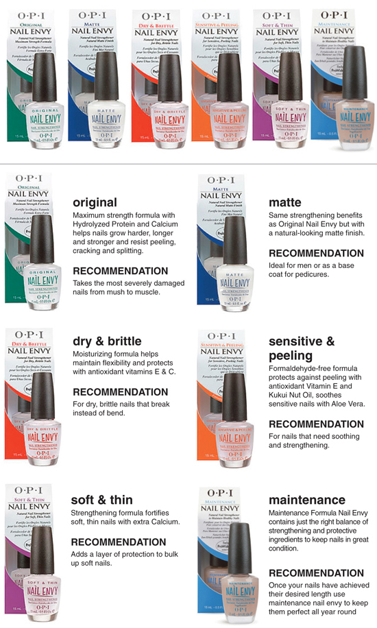 OPI Nail Envy Treatment Collection has been one of the world's best selling